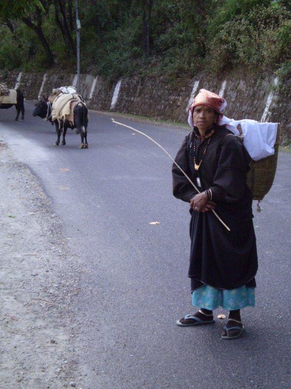 Long March from Birahi to Garpak