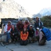 Guides and Trekkers on Nanda Devi Inaugural Trek