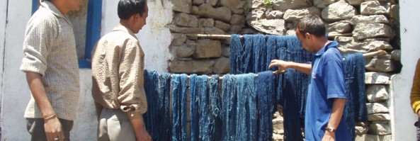 Bringing new colours to traditional Bhotiya wool