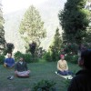 Yoga sessions conducted during Himalayan trek